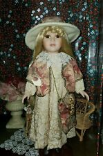 """Porcelain Doll Collector's Choice Genuine Fine Bisque  Limited Edition 18"""""""