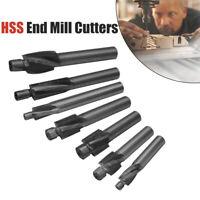 Outil de rainurage de foret à fente solide pour forets à contre-alésage pilotes