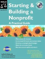 Starting & Building a Nonprofit: A Practical Guide with CDROM (Starting & Build