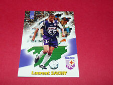 PANINI FOOTBALL CARD 98 1997-1998 LAURENT SACHY TOULOUSE FC Téfécé TFC STADIUM