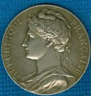 1925 French Silver Award Medal for the Minister of Commerce & Industry by Borrel