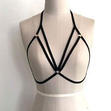 Womens Lace Sheer Bralette Bralet Bra Bustier Crop Tops Sleepwear Party Lingerie