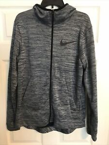 Nike Dri-Fit Medium Blue Full Zip Hoodie