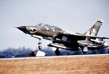 """U.S. Air Force F-105G Thunderchief landing 13""""x 19"""" Vietnam War Photo Poster 129"""