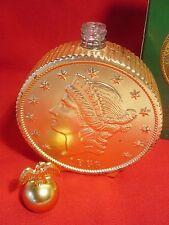 1970's Twenty Dollar Gold Piece Decanter