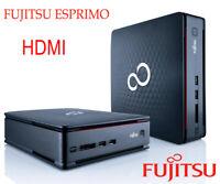 Fujitsu Esprimo Q510 Mini PC Intel Celeron G1610T 2,30 Ghz 320GB   4GB RAM HDMI
