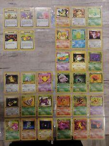 Near Complete 1st Edition Team Rocket dark Pokemon Card Collection Lot Wotc base
