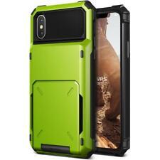 VRS Design Damda Folder Wallet Case for iPhone X - Lime Green