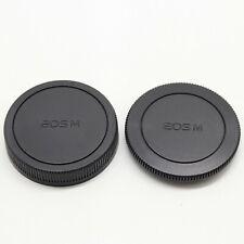 Camera Body Cover + Rear Lens Cap for Canon EOS M M3 M6 M100 M50 EF-M Mount UK