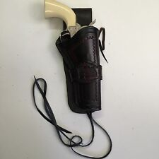 "Western 3"" Drop Colt SAA 51/2, Ruger Vaquero,Blackhawk Leather Holster"