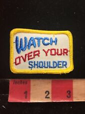 Vtg CB RADIO Patch - C.B. Lingo WATCH OVER YOUR SOLDIER 87I4