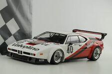 1:18 BMW M1 Ganador Procar Monaco Gp 1980 Hans-Joachim Unidad Minichamps