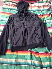 Men's RVCA Jacket Hoodie Size Large