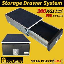 Drawer System Single Vehicle Storage 4WD Cargo Rear Drawer 90CMw Universal Locka