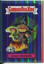 Garbage Pail Kids Chrome Series 1 Refractor Base Card 16b HAGGY MAGGIE