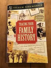 """1997 """"TEACH YOURSELF - TRACING YOUR FAMILY HISTORY"""" PAPERBACK BOOK"""