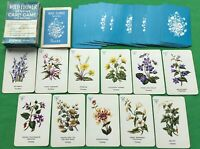 Old 1963 Vintage Pepys ** WILD FLOWER Sevens ** Playing Cards Game - 2nd edition