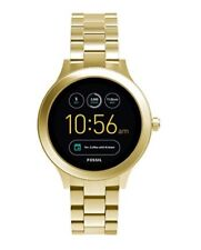 FOSSIL Venture Q Smartwatch Gold FTW6006 Mens/Ladies Watch Android iOS Apple NEW