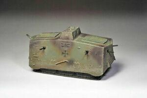 "Thomas Gunn GW011 World War I WWI German Camo A7 Tank ""Cyclops"" 1/30 New"