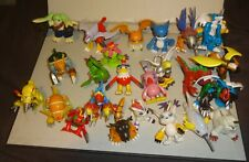 """bandai DIGIMON  lot #3 3.5"""" figures with actions"""