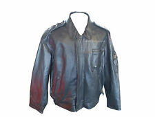 BRITISH ARMY LEATHER JACKET - SIZE 46 - GRADE 1 CONDITION - RL668