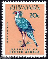 /SOUTH AFRICA 1968 20c Secretary BIRD P14 w.RSA in triangle Sc#340 1v MNH @E1981