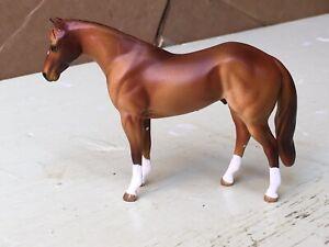 Peter Stone Chip Mold Quarter Horse Stallion Custom Cm Resculpt Chestnut Roan