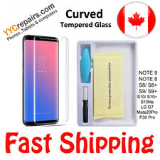 Sony Xperia XZ3 Liquid UV Glue Nano 3D Curved 9H Tempered Glass Screen Protector