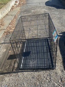 (42x28x30.5)inch (L*W*H)inch Folding Metal Dog Crate *One Door