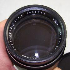 SOLIGOR Tele-Auto Lens 1:5.5  f=300mm 62φ Serial No. 17109121 made in Japan