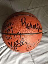 Autographed Nba Basketball * Bulls * Spurs * Celtics * Jazz * Warriors * Hof