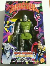 "Toy Biz Marvel Universe 10"" Metal Warriors Ultra Dr. Doom MIB"