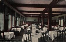 Postcard Dining Room Hotel Virginia Exposition Park Conneaut Lake Pa