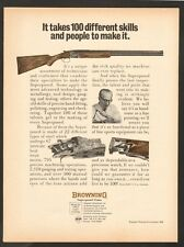 vintage 1968 ad 6913 for Browning Superposed Guns over-and-under shotguns