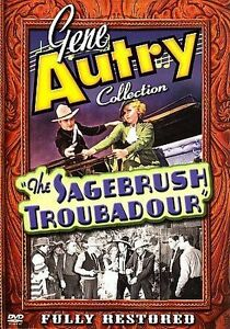 The Gene Autry Collection: The Sagebrush Troubadour (DVD, 2006) New Sealed