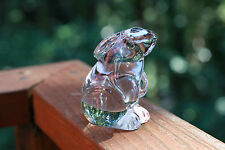 Baccarat Glass Collectable Rabbit