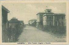 CARTOLINA d'Epoca: ROMA - LADISPOLI 1917