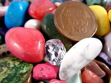 TREASURE MIX of OVER 2200 Carats of GEMSTONES and OLD COINS Plus FREE GIFT BAG