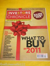 INVESTORS CHRONICLE - WHAT TO BUY IN 2011 - DEC 17 2010