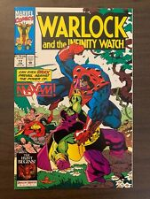 Warlock and the Infinity Watch 17 High Grade Marvel Comic C43-42
