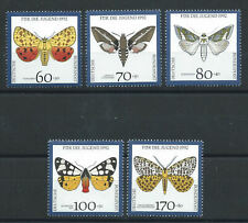 """Allemagne RFA N°1430/34** (MNH) 1992 - Faune """"Papillons"""""""