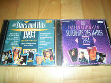 Stars und Hits 1993+1994 - 2 Doppel-CDs Roxette U96 Corona Enigma Snap Michelle