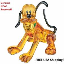 Swarovski Disney PLUTO Color Crystal Figurine 5155753 GENUINE! New in Gift Box