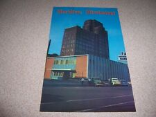 1950s FIRST NATIONAL BANK DOWNTOWN MERIDIAN MISSISSIPPI VTG POSTCARD