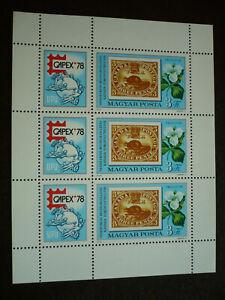 Stamps - Hungary - Scott# 2532 - Souvenir Sheet