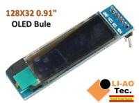 0.91 Inch Blue 128X32 OLED LCD LED Display Module