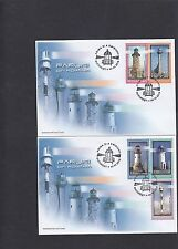 Romania 2010 Lighthouses on pair First Day Cover FDC