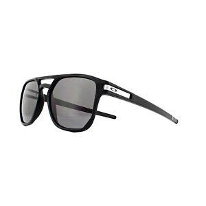Oakley Lunettes de Soleil Latch Beta OO9436-01 Noir Mat Prizm Gris