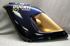 Ducati ST2 Desmodromico, 1997-2004, OEM LH and RH upper fairing, blue/gold