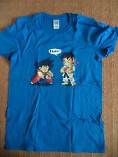 The Yetee-a lesson of bólidos-Dragon Ball Z Goku-azul Blue-S